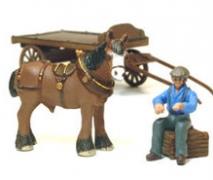 Unpainted Wagons