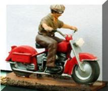 Motorcycle - Unpainted