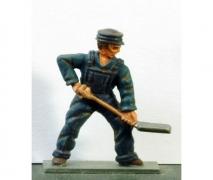 Fireman - Coal- Unpainted Figure