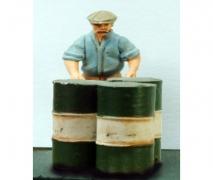Workman & A Drum