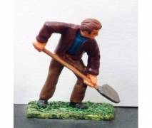 Workman With Shovel